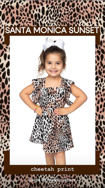 Cheetah Mini Me Dress - clothe+arrow