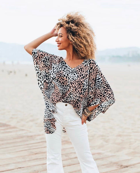 Cheetah North Top - clothe+arrow