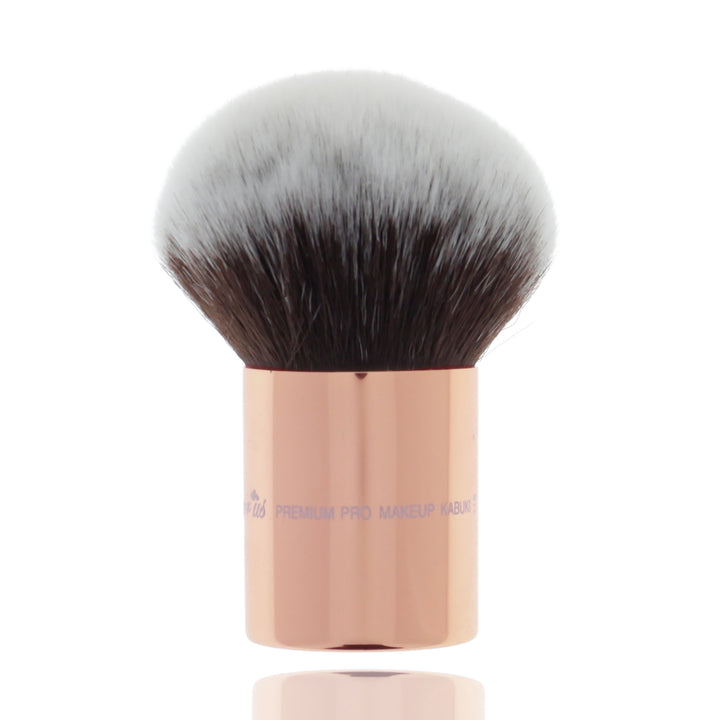 118 Amorus USA Premium Bronzer Face and Body Kabuki Makeup Brush Amor Us makeup cosmetics brushes vegan cruelty free