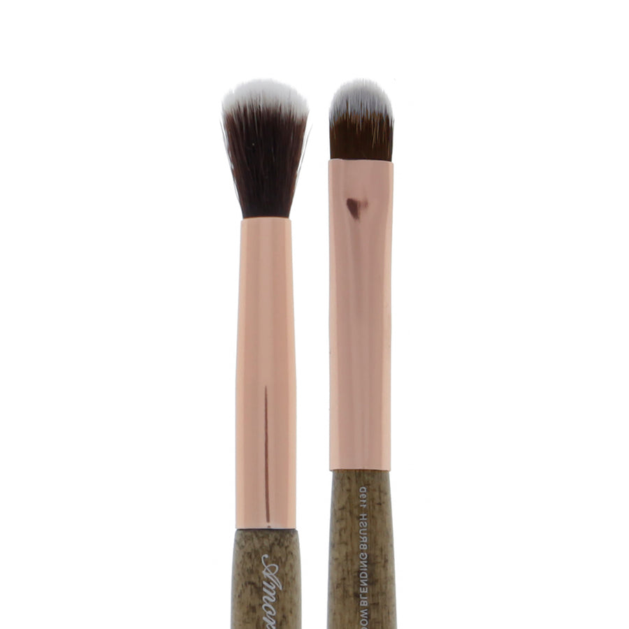 119D Amorus USA Premium Eyeshadow Packing and Blending Duo Eye Makeup Brush Amor Us makeup cosmetics brushes vegan cruelty free