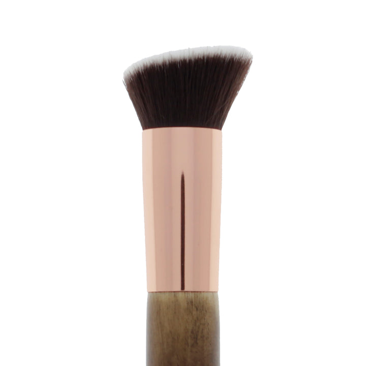 122 Amorus USA Premium Angled Flat Kabuki Makeup Brush Amor Us makeup cosmetics brushes vegan cruelty free