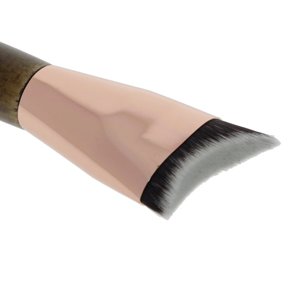 125 Amorus USA Premium Crescent Sculpting Contour Face Makeup Brush Amor Us makeup cosmetics brushes vegan cruelty free d