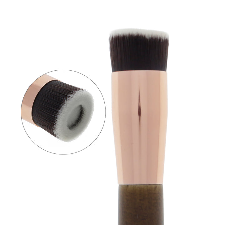 126 Amorus USA Premium Halo Foundation Face Makeup Brush Amor Us makeup cosmetics brushes vegan cruelty free