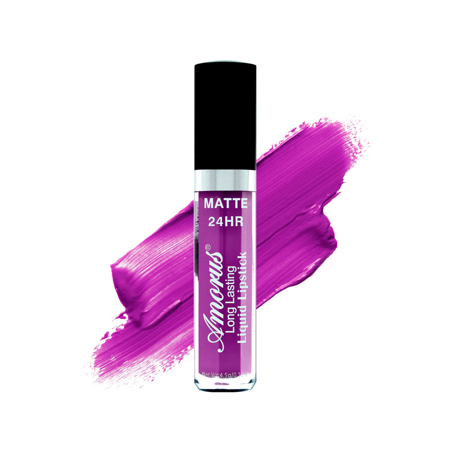 Amorus USA Amor Us #amorususa beauty cosmetics makeup cruelty-free lip lips liquid lipstick 24 hour long-lasting waterproof matte transfer proof