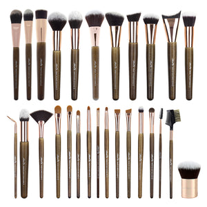 Amorus, amorous, Amor Us, Amor'Us, Amorususa, USA makeup, Set, primium brush set 27 makeup brush face lip eye standing