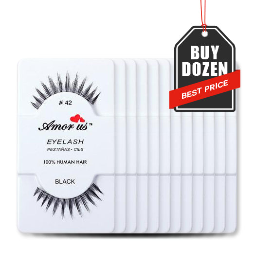 42 - Amorus USA False Eyelashes Fake Lashes Amor Us