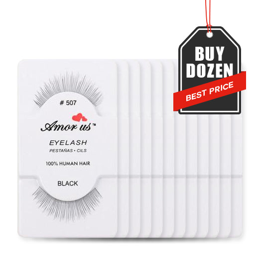 507 - Amorus USA False Eyelashes Fake Lashes Amor Us