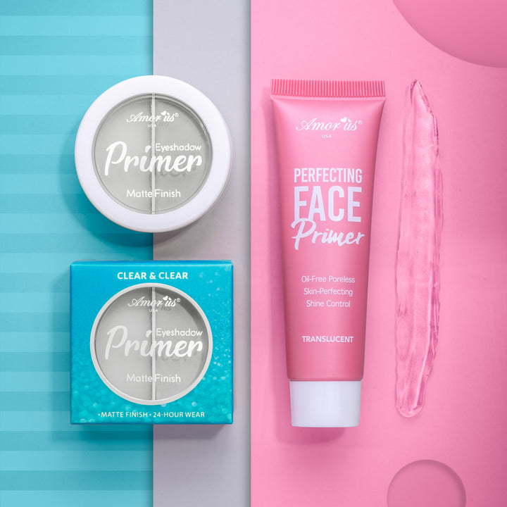 Face Primer & Clear Eyeshadow Primer | Bundle
