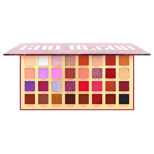 Amorus USA colorful refreshing BadBlood 32 Shade Pressed Pigment Palette Amor us Bad Blood