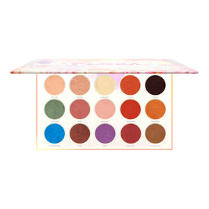 Amorus USA Flora Pressed Pigment Palette Amor us makeup cosmetics eye palette cream eyeshadow