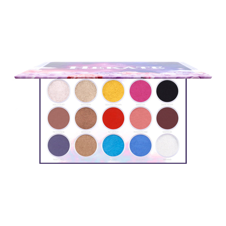 Amorus USA Hekate Pressed Pigment Palette Amor us makeup cosmetics eye palette cream eyeshadow