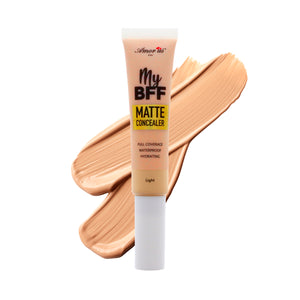 Amorus USA Amor Us #amorususa beauty cosmetics makeup cruelty-free my bff liquid concealer full coverage comfort matte finish