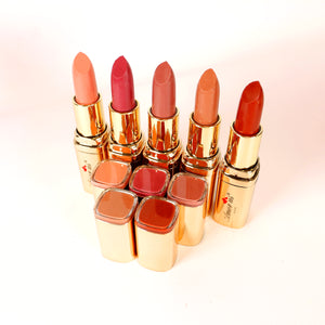 NKD nude naked Silky matte lipstick lip bundle set Amorus Amor us amour us makeup cosmetics