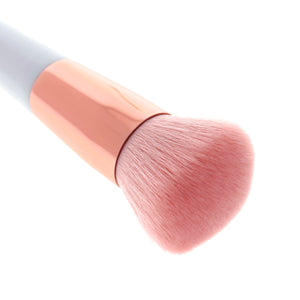 Amorus USA Luxe Basics Buffing Foundation Brush #201 Amor us round buffer vegan cruelty free synthetic makeup brush brushes