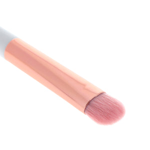 Amorus USA Luxe Basics Base and Shadow Brush #205 Amor us eyeshadow double-ended multi-purpose eye vegan cruelty free synthetic makeup brush