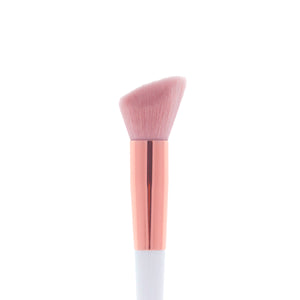 Amorus USA Luxe Basics Highlighter Brush #203 Amor us highlight strobing highlighting vegan cruelty free synthetic makeup brush