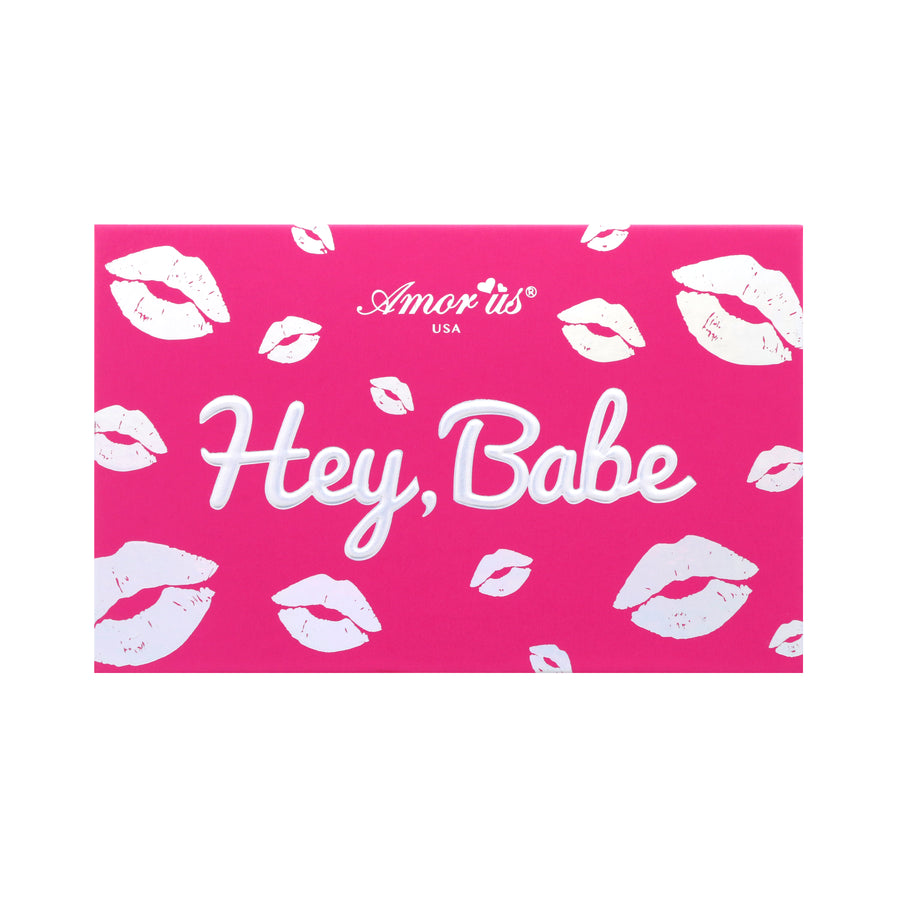 Amorus USA Hey Babe Pressed Pigment Palette Amor us kisses pressed pigment