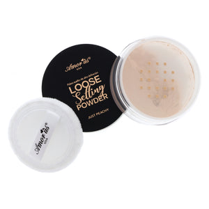 Amorus USA Loose Setting Powder baking finishing semi-translucent peach face makeup amor us