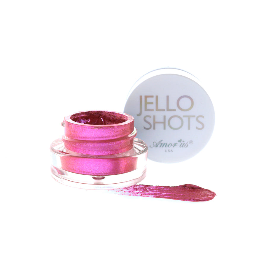 Amorus USA Jello Shots jelly eyeshadow Amor us makeup cosmetics eye gel cream eyeshadow jar pot gelly