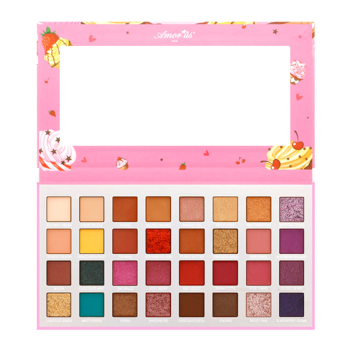 Amorus USA Cake Pop cakepop 32 pan color Eyeshadow palette eye makeup amor us