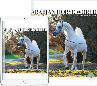 Arabian Horse World print plus digital subscription