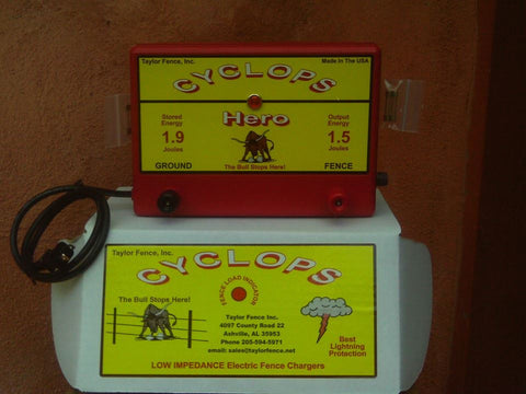 Cyclops Hero Electric Fence charger energizers