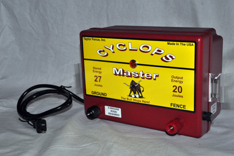 Cyclops Master a/c powered electric fence charger energizer
