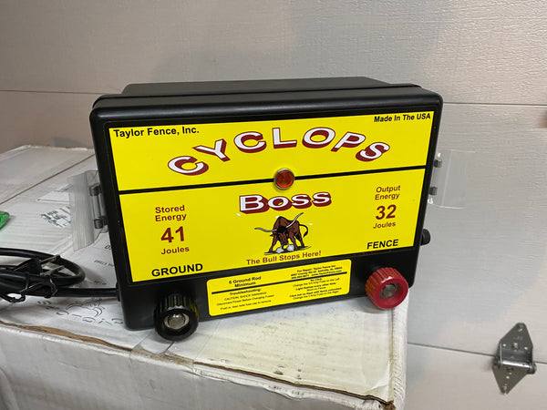 Black Cyclops Electric fence Charger