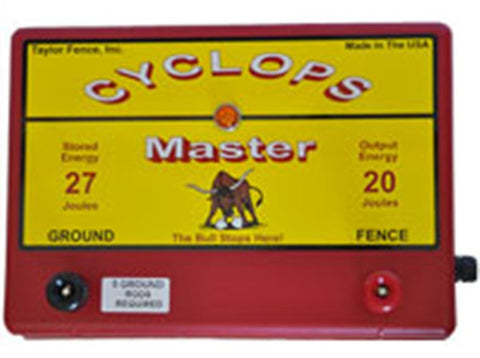 Cyclops Master electric fence charger