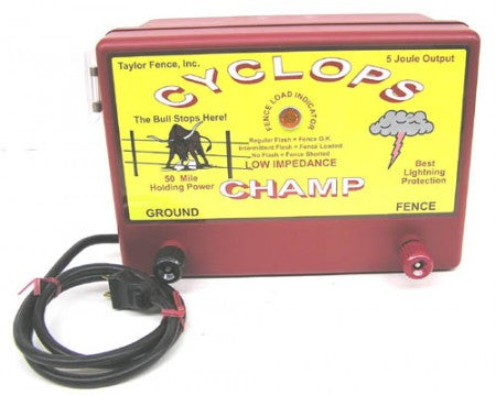 Cyclops CHAMP Electric Fence Energizer