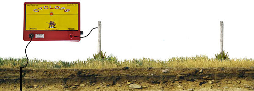Cyclops Electric Fence Charger.
