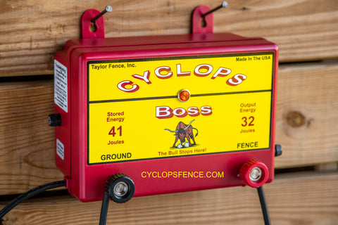 Cyclops Boss fence charger