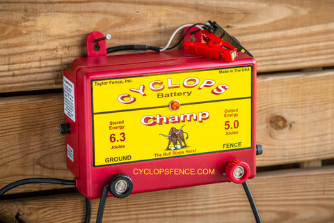 cyclops fence charger