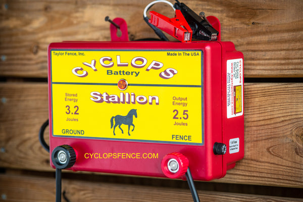 Cyclops electric fence charger