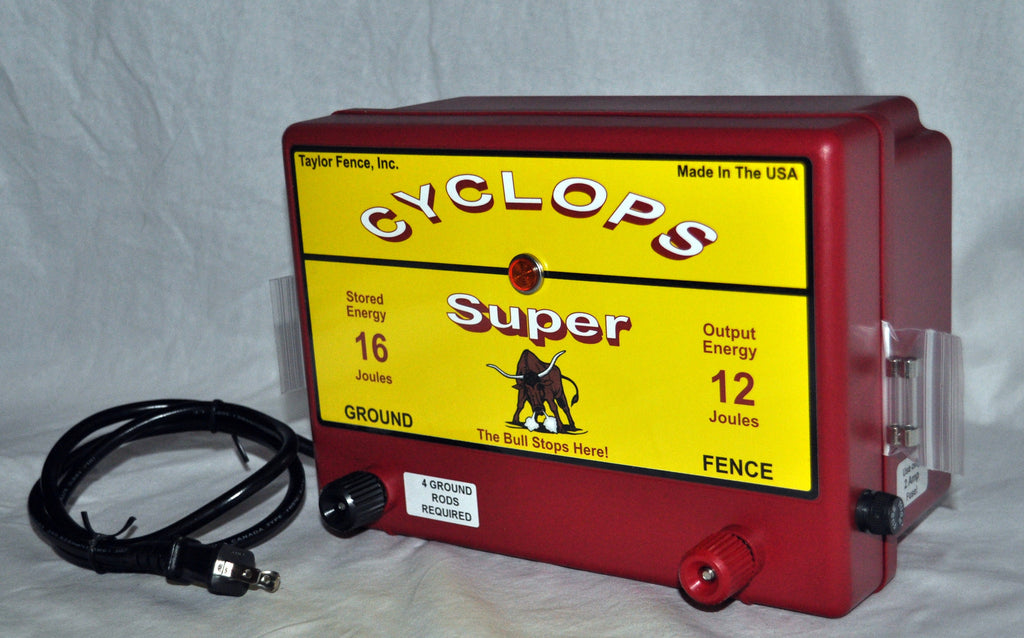 Buy The Cyclops Super Here Best Electric Fence Charger