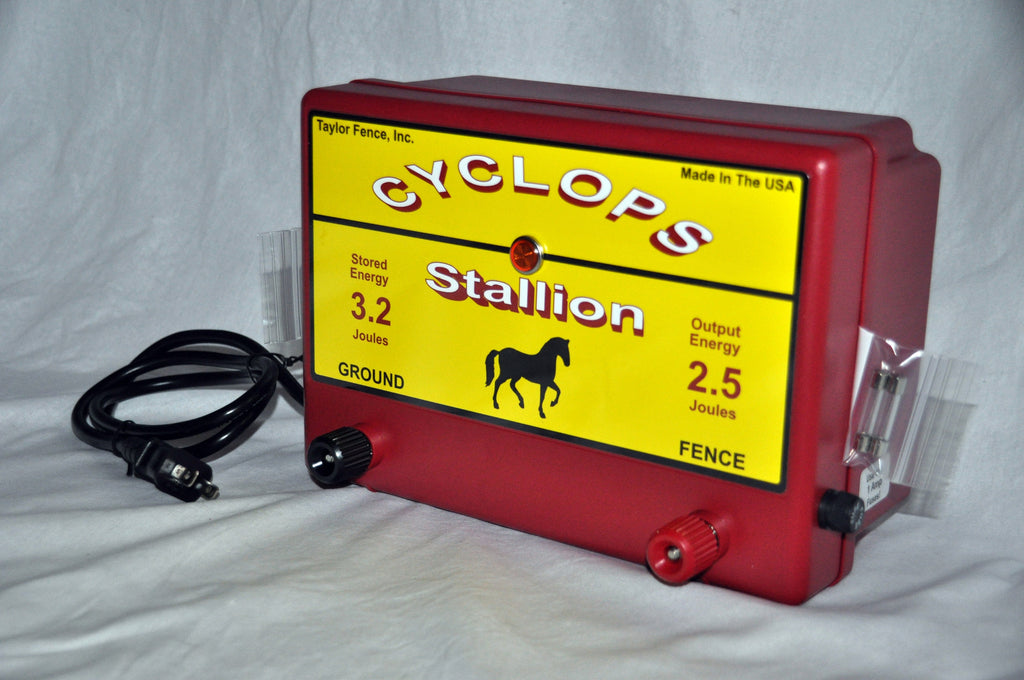 Buy The Cyclops Stallion Here Best Electric Fence Charger