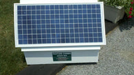 cyclops solar powered electric fence charger