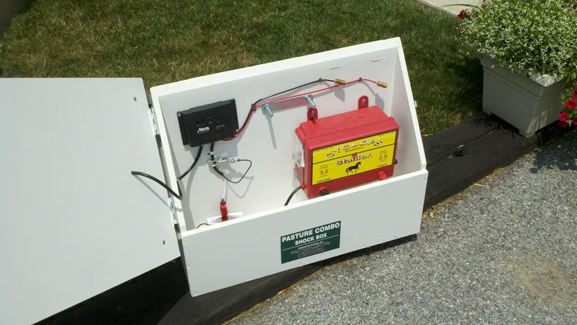 Buy Cyclops SUPER Solar Powered Electric Fence Charger ...