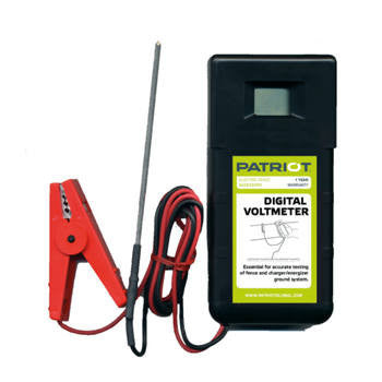 Patriot Digital Voltmeter | Free USA Shipping - CYCLOPS ELECTRIC FENCE CHARGERS