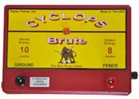 cyclops brute electric fence charger energizer