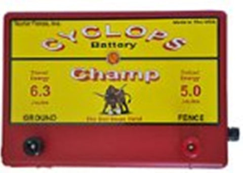 Cyclops Champ electric fence charger 5 joule 50 acre