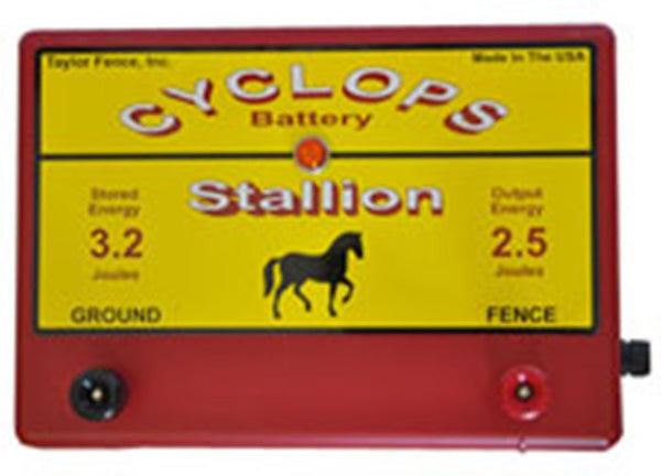Cyclops Stallion AC powered electric fence charger energizer