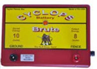 Cyclops BRUTE, 8 Joule, 100 Acre, 12V Battery Powered Energizer | Free USA Shipping - CYCLOPS ELECTRIC FENCE CHARGERS