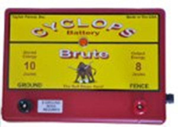 Cyclops Brute Battery electric fence charger
