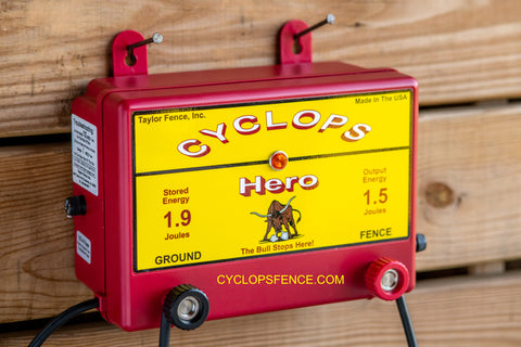 Cyclops Hero AC Mains electric fence charger