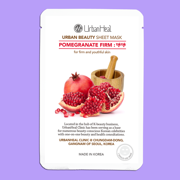 POMEGRANATE FIRM : 탱탱 FACIAL SHEET MASK - 1 Sheet