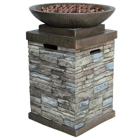 Newcastle Full-Size Fire Bowl - www.outdoorheatingsolutions.com