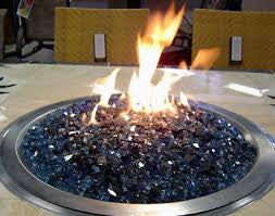 Fire Pit Rocks-Blue - www.outdoorheatingsolutions.com