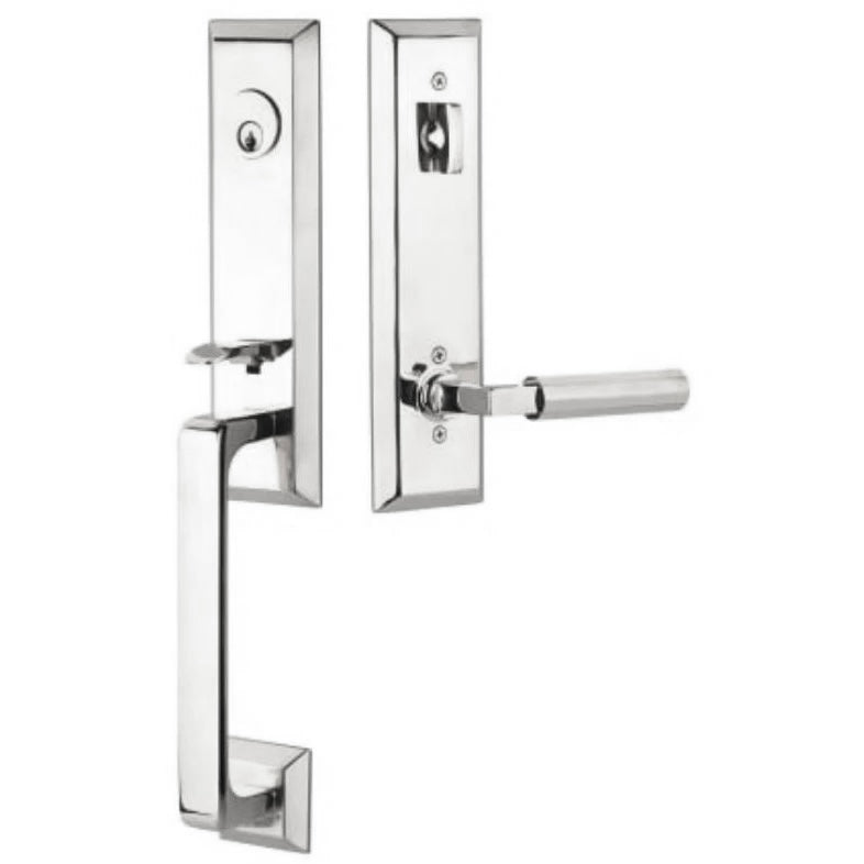 Emtek DC4727 Transitional Heritage Keyed Entry Handleset. - Designer Entryway door locks access control intercoms home automation