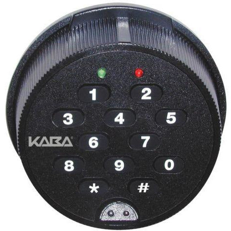 Kaba Mas Auditcon Model 52 Swingbolt Safe Lock Package - Designer Entryway door locks access control intercoms home automation